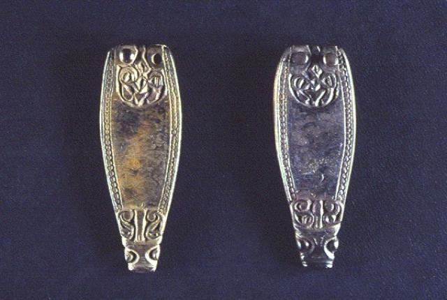 srebrne ozdoby